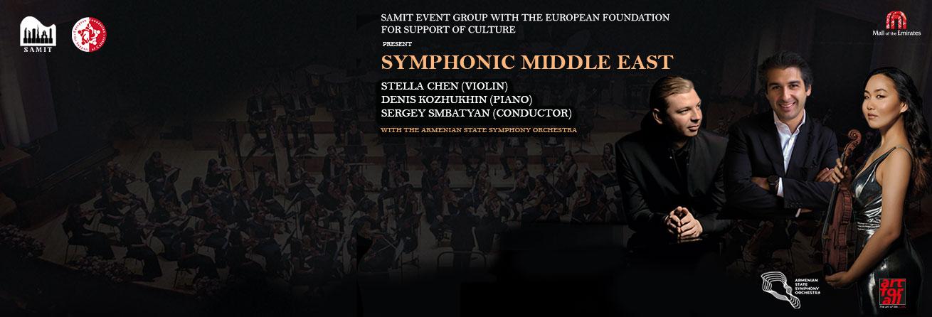 Symphonic Middle East: Denis Kozhukhin, Stella Chen & Sergey Smbatyan