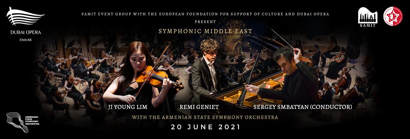 Symphonic Middle East: Lim & Geniet