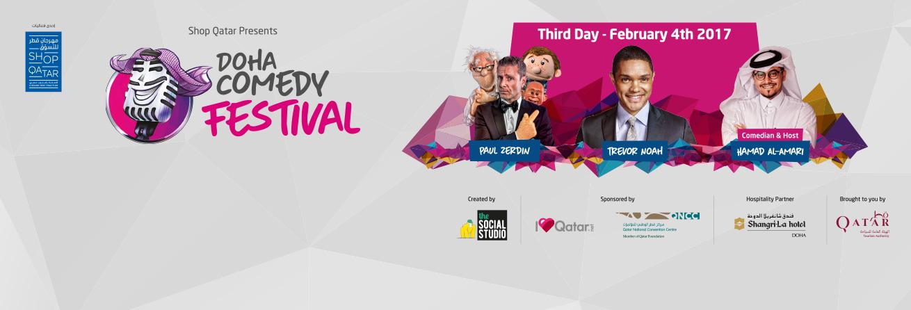 Doha Comedy Festival-Day 3