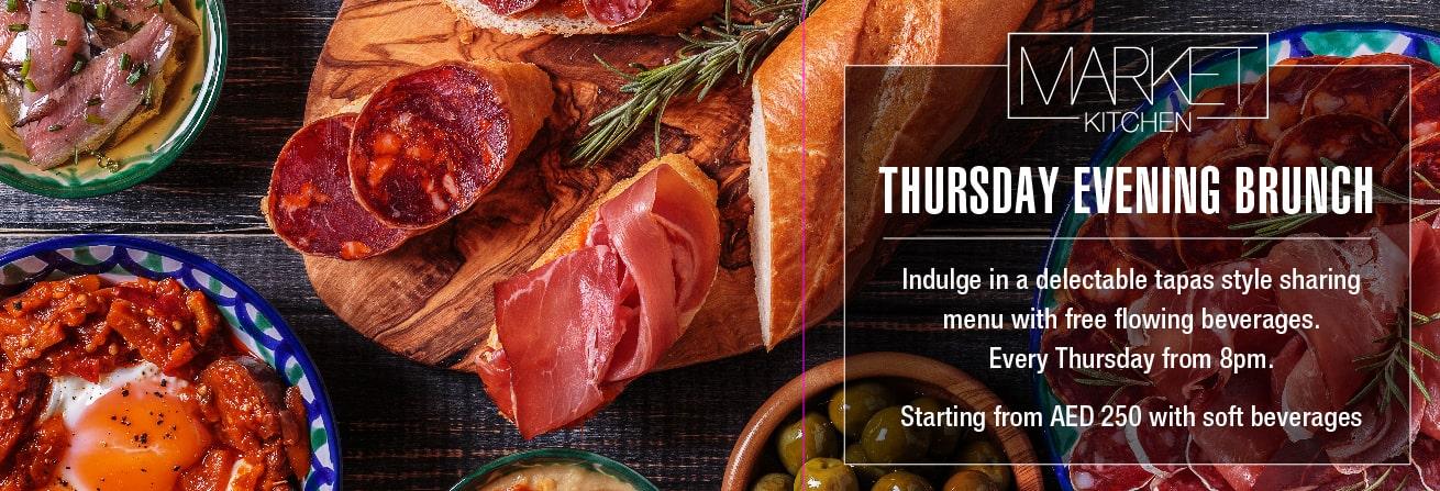 Market Kitchen- Thursday Evening Brunch