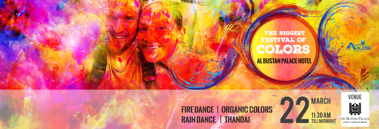 BIGGEST FESTIVAL OF COLORS