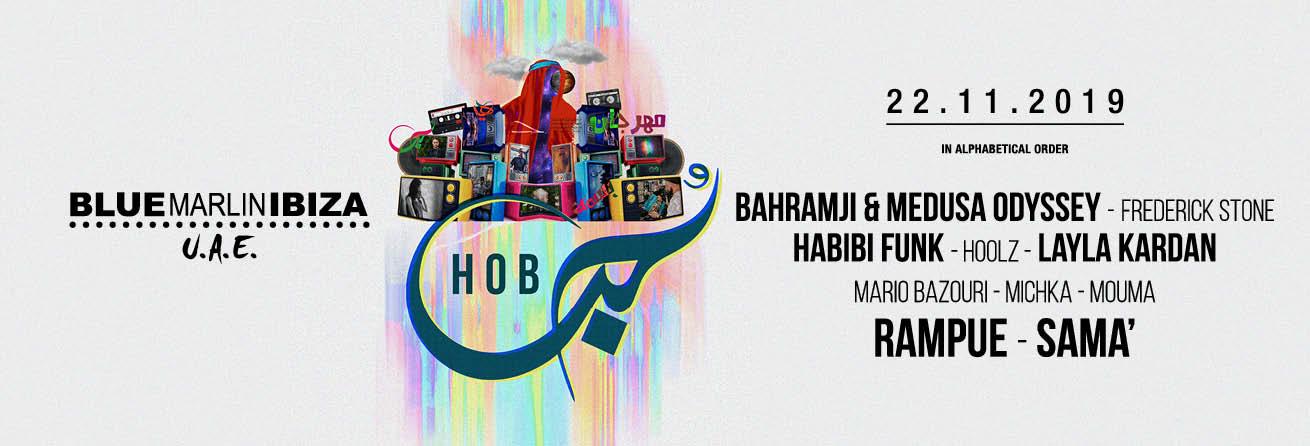 Hob Festival at Blue Marlin Ibiza UAE