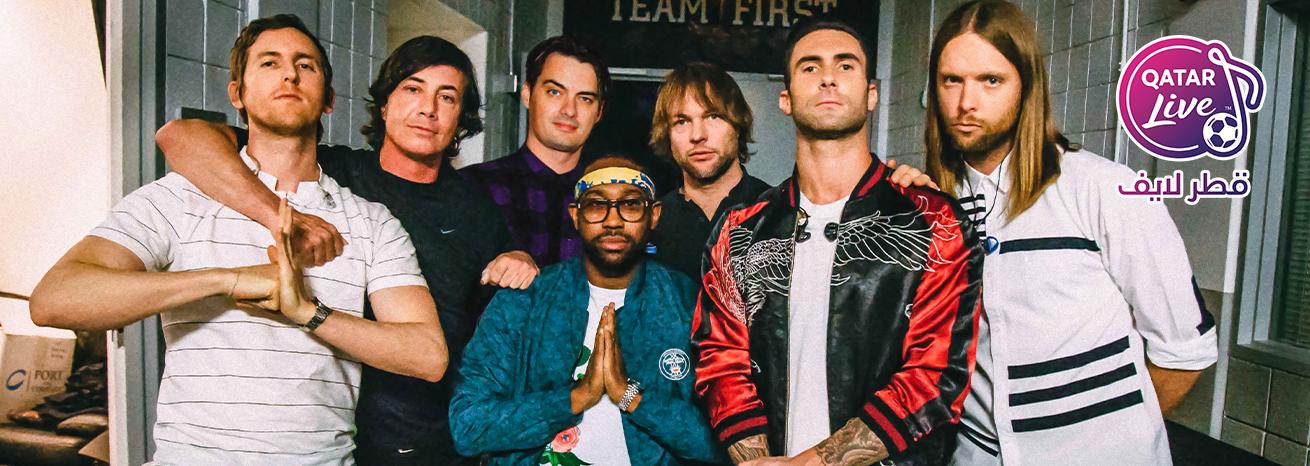 Maroon 5 in Qatar Live