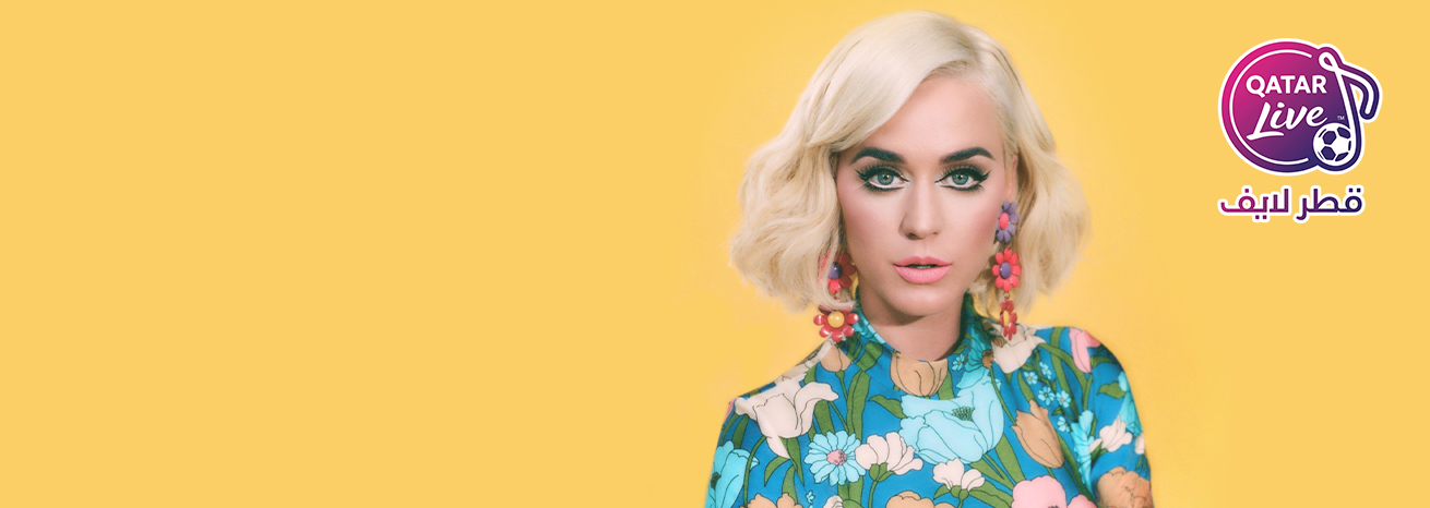 Katy Perry in Qatar Live