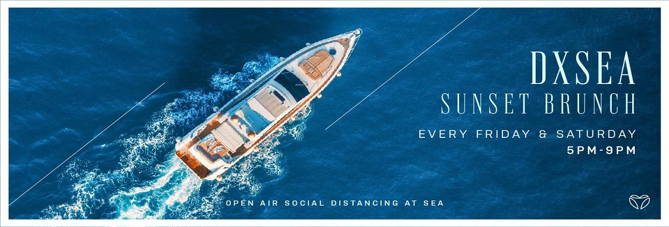 Mega Yacht Sunset Cruise