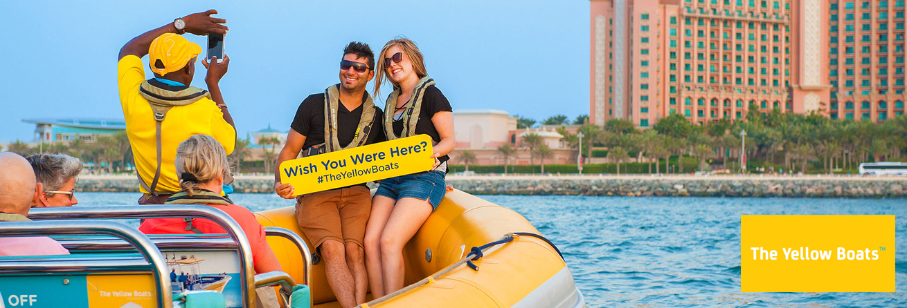 The Yellow Boats Special 25% Discount Offer on Charter Tours