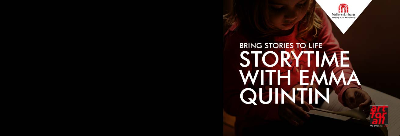 """""""Once Upon a Time"""" Storytelling sessions with Miss Emma!"""