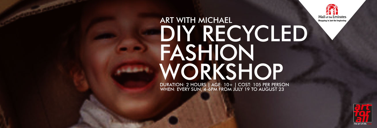 Art with Michael: Recycled Fashion Workshop