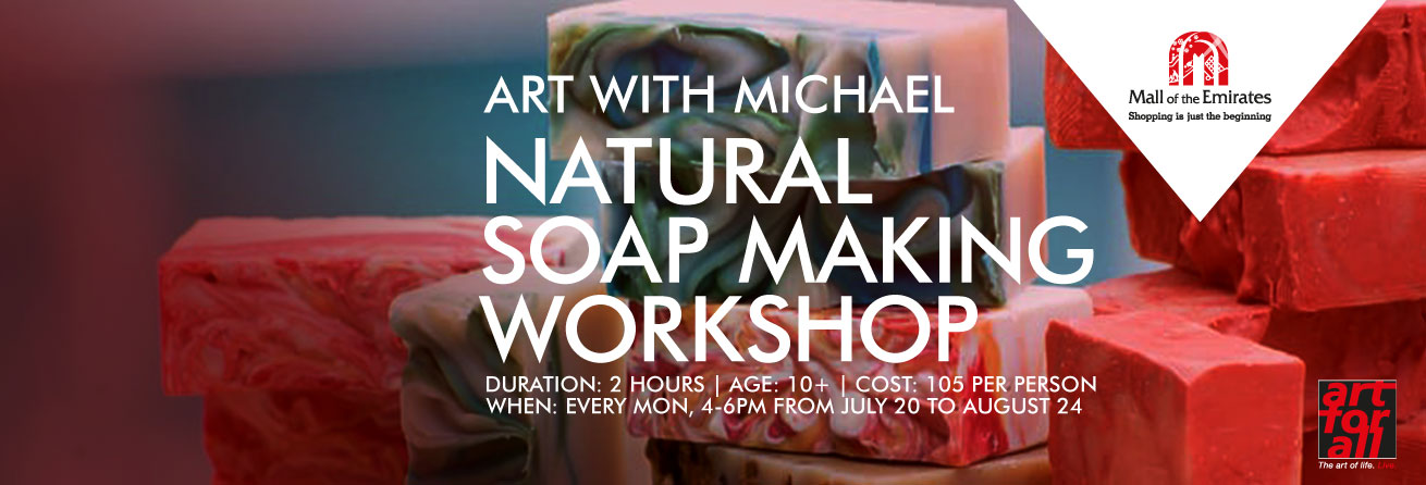 Art with Michael: Hands-On Natural Soap Making Workshop