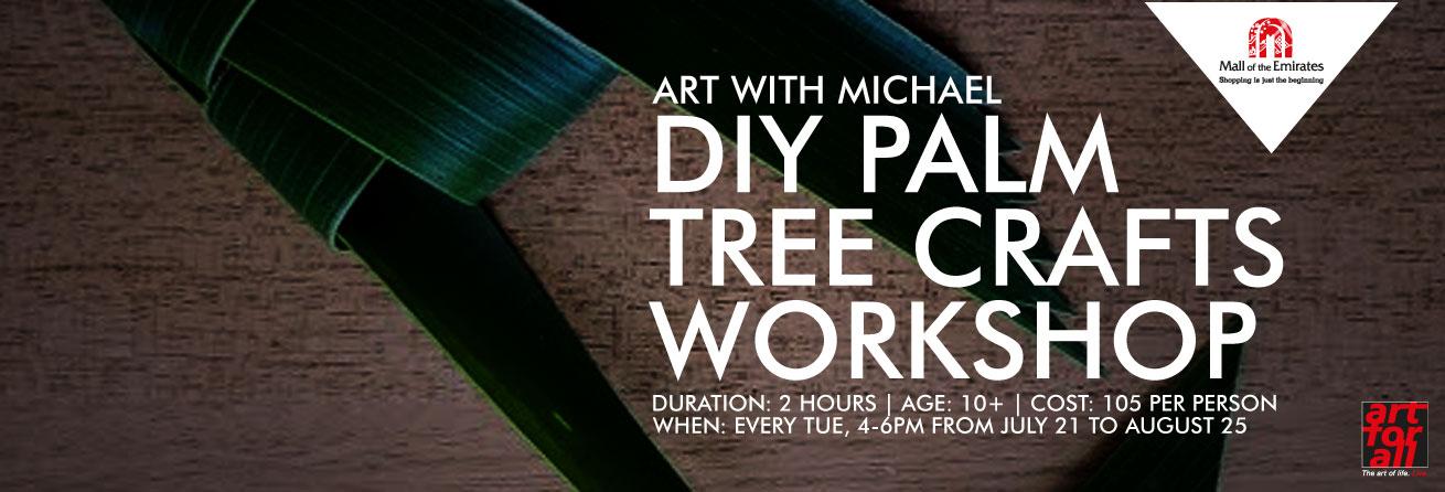 Art with Michael: Palm Leaf Roses Workshop