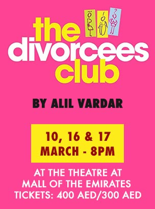 THE DIVORCEES CLUB poster