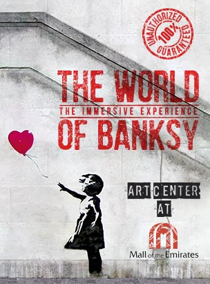 The World of Banksy poster