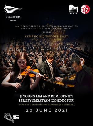 Symphonic Middle East: Lim & Geniet poster
