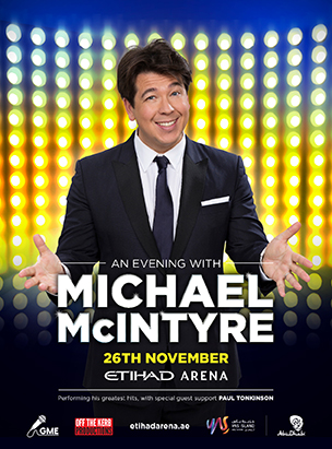 An Evening with Michael McIntyre poster