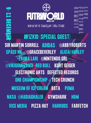 FUTR WORLD 2021 poster
