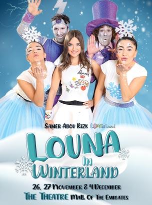 Louna in Winterland