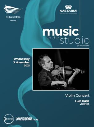 Luca Ciarla  - Violinist poster