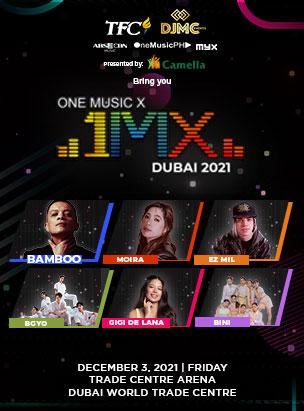 1MX Concert poster