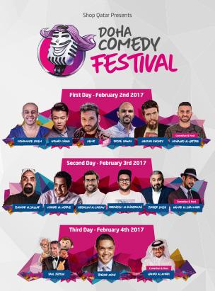 Doha Comedy Festival-Day 3 poster
