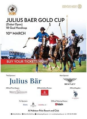 Julius Baer Gold Cup 2017 poster