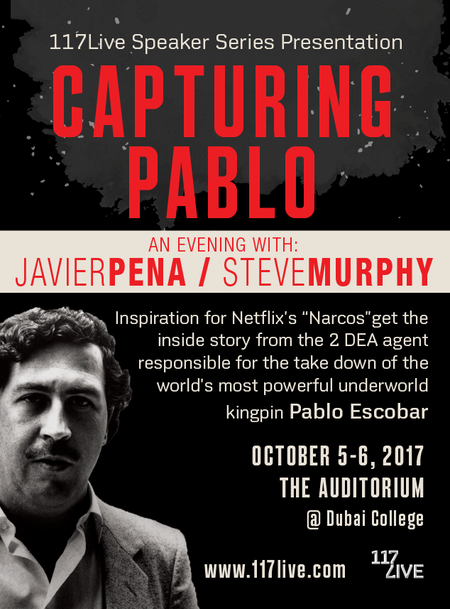 Capturing Pablo - An evening w/ Javier Pena and Steve Murphy poster