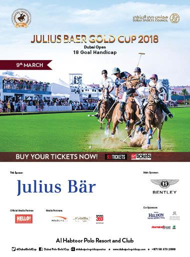 Julius Baer Gold Cup 2018  poster