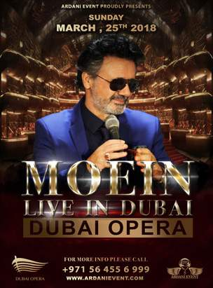MOEIN Live in Dubai poster