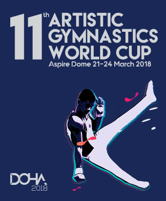 11th Artistic Gymnastics World Cup  poster