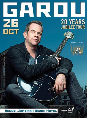 GAROU Live in Dubai | 20 Years - Jubilee Tour  poster