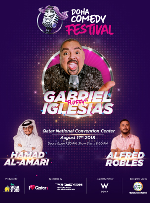 Doha Comedy Festival  poster