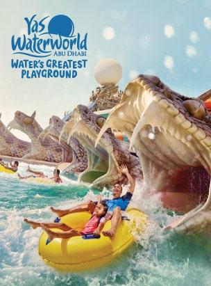 Yas Waterworld Abu Dhabi poster
