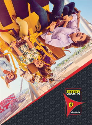 Ferrari World Abu Dhabi poster