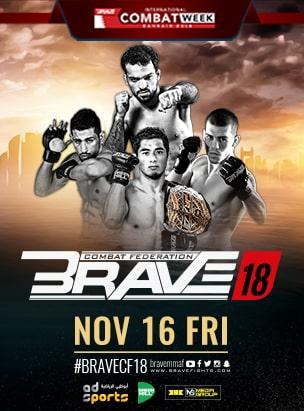 Brave 18  poster