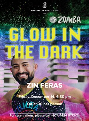 Glow in the dark Zumba  poster