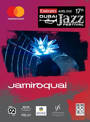 Dubai Jazz Festival 2019 - Jamiroquai poster