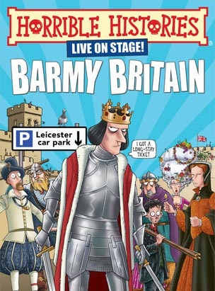BARMY BRITAIN- LIVE ON STAGE! poster