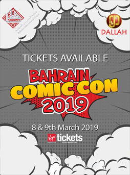 Bahrain Comic Con  poster