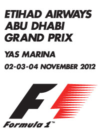 2012 FORMULA 1 ETIHAD AIRWAYS ABU DHABI
