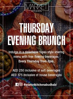 Market Kitchen- Thursday Evening Brunch poster