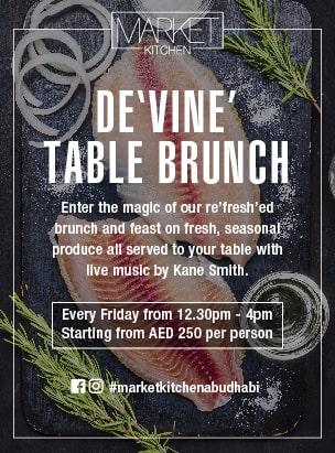 Market Kitchen- DE'VINE' Table Brunch poster