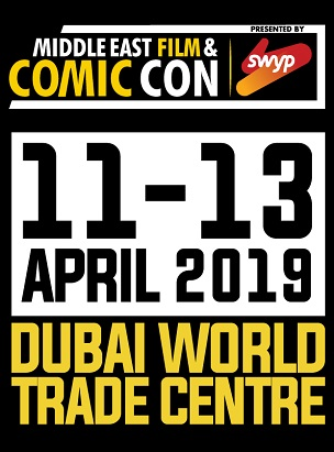 MIDDLE EAST FILM & COMIC CON 2019 poster