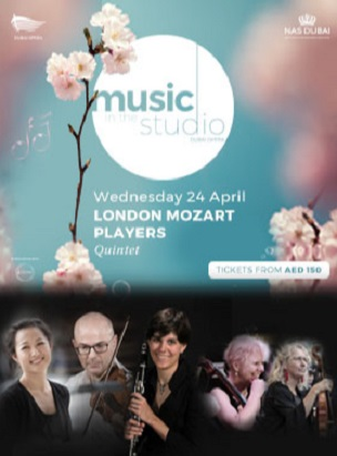 Music in the Studio present London Mozart Players poster