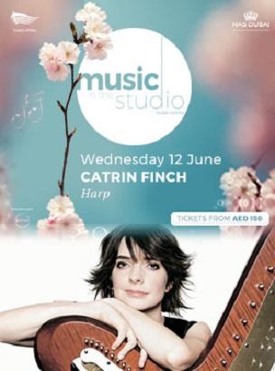 Music in the Studio present Catrin Finch poster