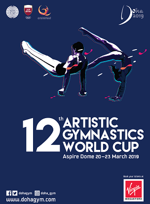 12th Artistic Gymnastics World Cup  poster