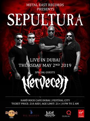 SEPULTURA - LIVE IN DUBAI