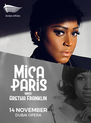 Mica Paris Sings Aretha Franklin poster