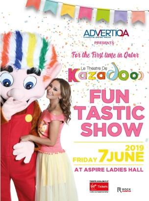 Kazadoo's FunTastic Show  poster
