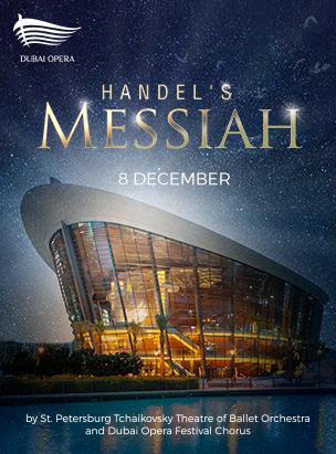 Handel's Messiah poster