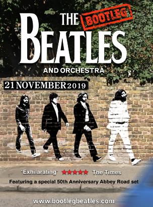 The Bootleg Beatles in Concert poster