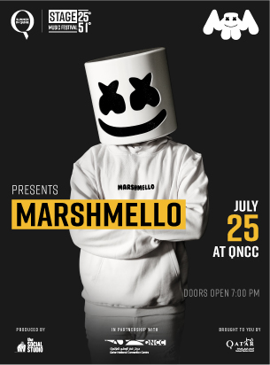Stage 25º51º Presents: Marshmello poster